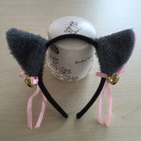Freee Shipping COS anime ears cats hairpins diffuse maid catwoman Lolita soft cute sister card