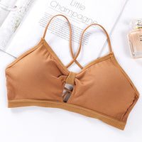 Strapless Women Tube Top Invisible Bra Wrap Top Women Crop Top Bandeau Sexy Tube Bra Padded Underwear