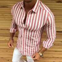 Shirt 2018 New Brand Men Casual Muscle Long Sleeve Dress Shirts Formal Business Luxury Top Tee Blouse