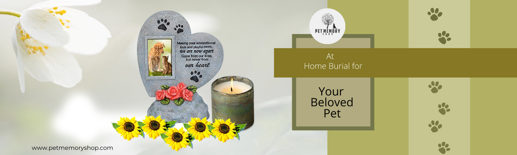 At Home Burial for Your Beloved Pet