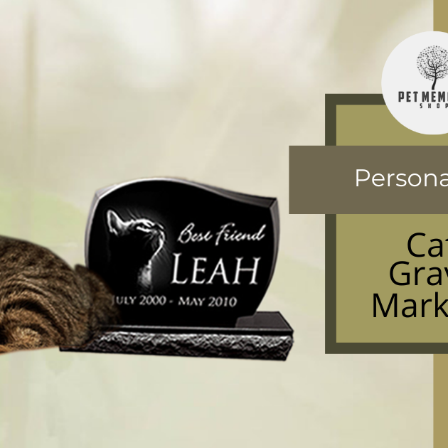 Cat Grave Markers