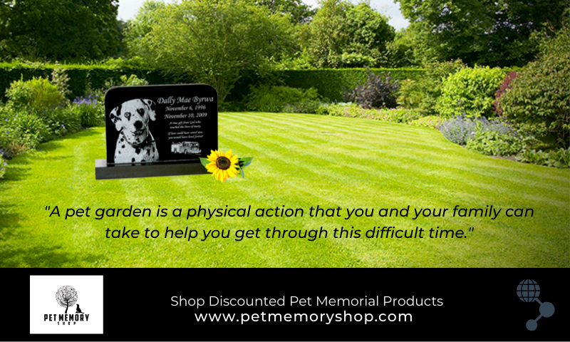 Pet Memorial- Creating a Garden for a Pet that Has Passed