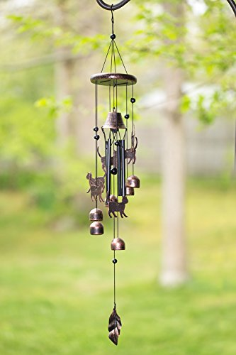 Cats Outdoor Garden Decor Wind Chime