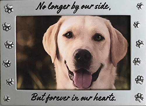 Pet Memorial Picture Frame Keepsake for Remembrance and Healing
