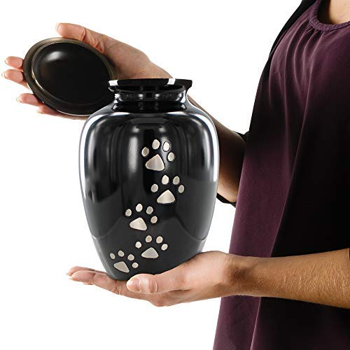 Trupoint Memorials Medium Pet Urns for Small Animals - for Dogs and Cats up to 40 Pounds