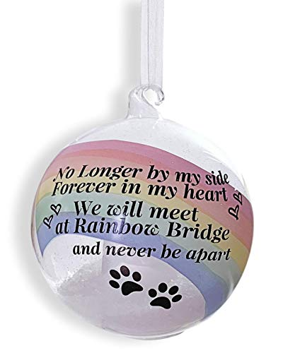 Rainbow Bridge Memory - Light Up Pet Memorial Ornament