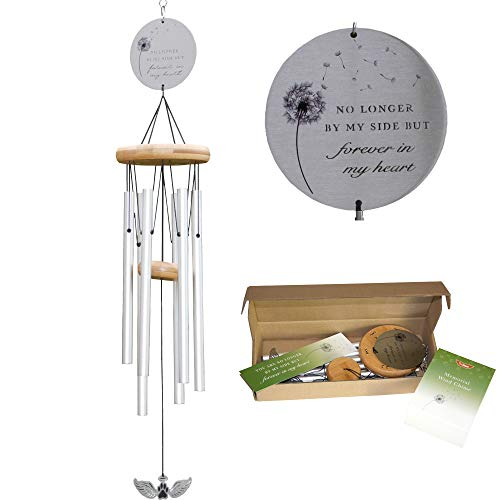 "Pet Memorial Wind Chime - 26"" Metal Wind Chimes"
