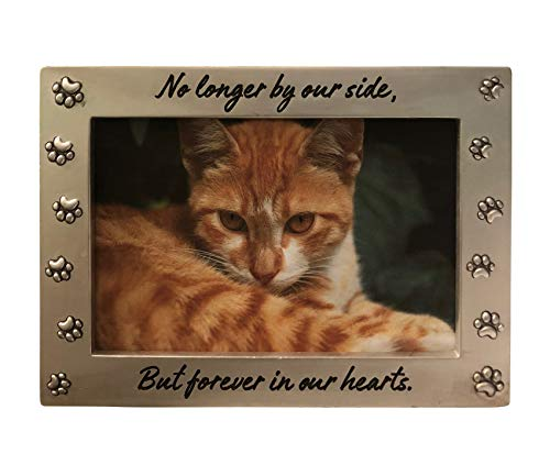 NewLifeLandia Pet Memorial Picture Frame Keepsake for Remembrance and Healing