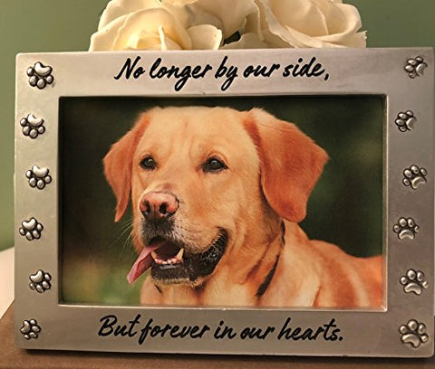 Pet Memorial Picture Frame - No Longer By Our Side