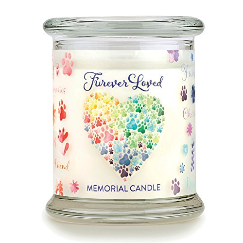 Pet Memorial Candle - Furever Loved Pet Eco-Friendly Natural Soy Wax Candle