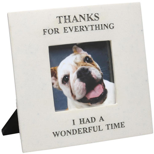 Thanks For Everything I Had A Wonderful Time - In Memory Of Pet Picture Frame
