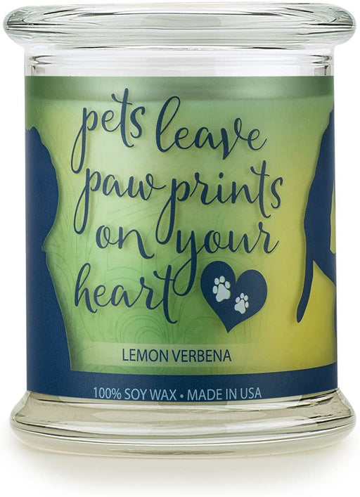 Natural Soy Wax Pet House Sentiments Candle - Pet Lover Gifts