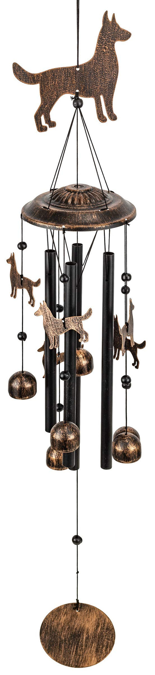 Dogs Outdoor Garden Decor Wind Chime