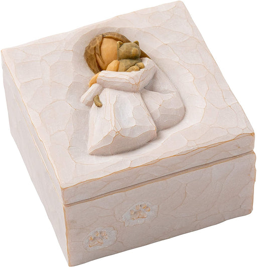 Willow Tree Sculpted Hand-Painted Keepsake Box