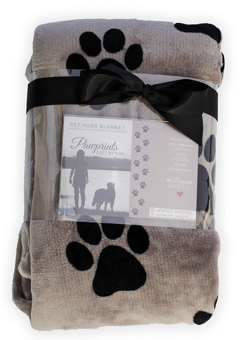 Pet Memorial Blanket with Heartfelt Sentiment - Non Personalized