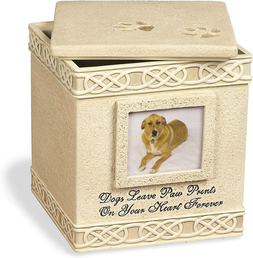 Pet Urn Memorial 6-Inch for Dog