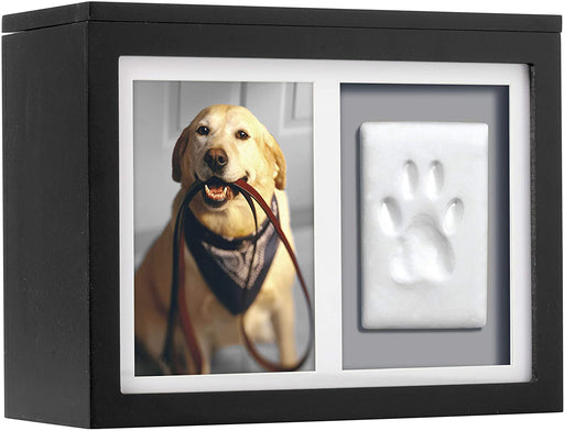 Pet Memorial Picture Keepsake and Pawprint Kit - Pet Memorial Box