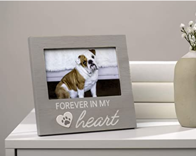 Pet Memorial Keepsake Picture Frame - Forever in My Heart