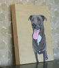 Custom Pet Memorial Painting of Dog