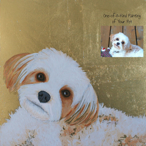 "12"" x 12"" Portrait Painting by Colleen"