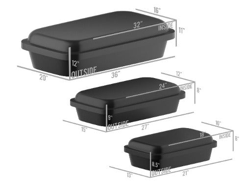 Elegance Series Pet Casket - Available in 3 Colors and 3 Sizes