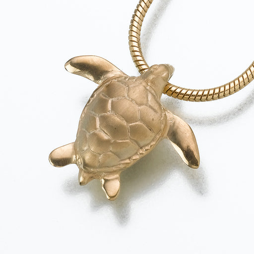 Sea Turtle Pendant Keepsake Urn