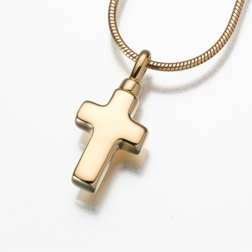 Small Cross Pendant Keepsake Urn