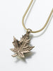 Maple Leap Keepsake Urn Pendant - Pet Memorial Jewelry