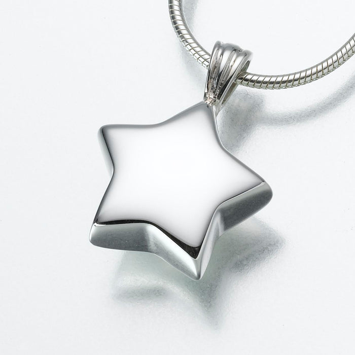Star Keepsake Urn Pendant