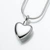 Small Heart Keepsake Urn Pendant