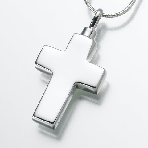 Large Cross Keepsake Urn Pendant