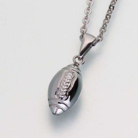 Stainless Steel Football w/chain
