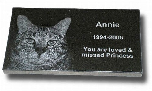 Standard Granite Pet Grave Marker