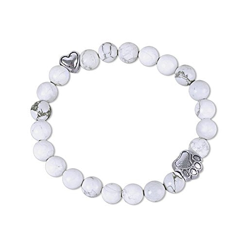 Pet Memorial Lava Bead Bracelet