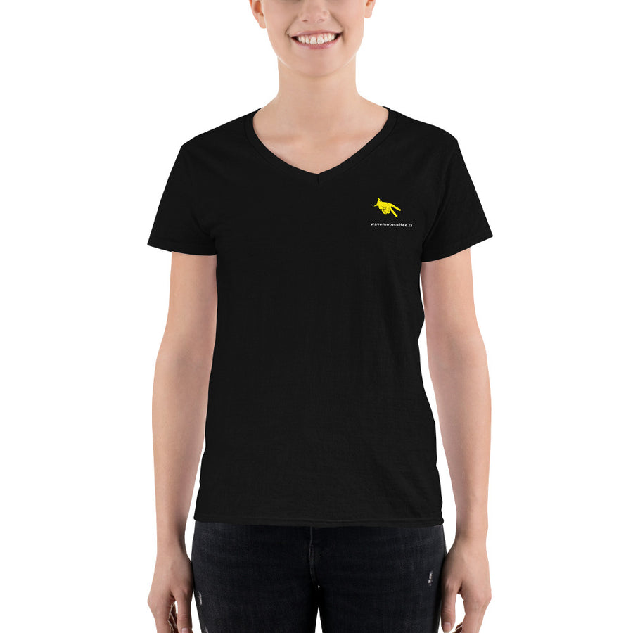 Women's Casual WMC V-Neck Shirt