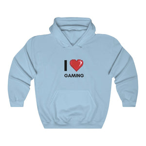 I Love Gaming - Unisex Hoodie - GamerSpex
