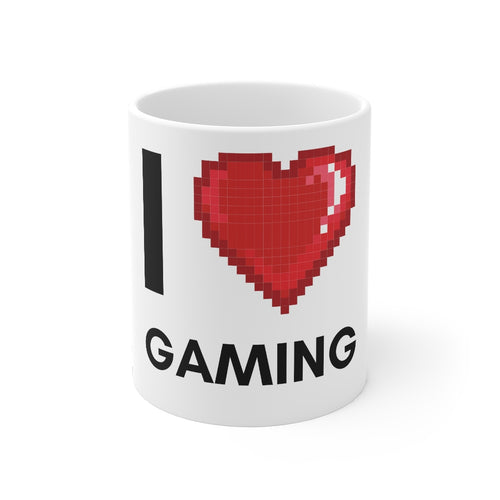 I Love Gaming Mug - GamerSpex
