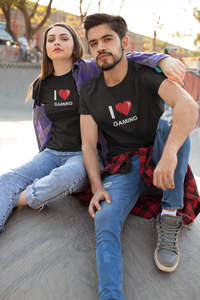 I Love Gaming - Unisex Tee - GamerSpex