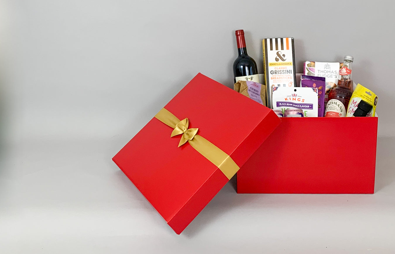 Recyclable Hamper Packaging, UK made boxes with immediate despatch