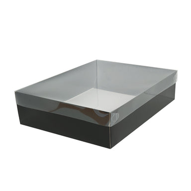 Clear Lid Gift Box Q (Pack of 25)