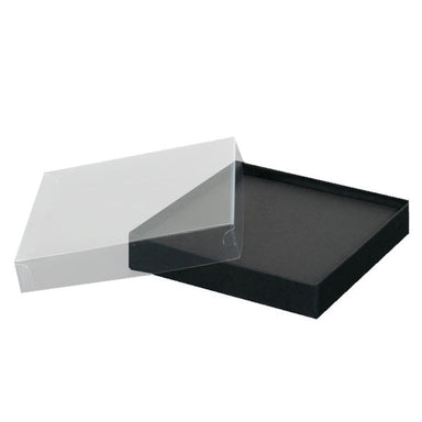 Bracelet Box Black with Clear Lid
