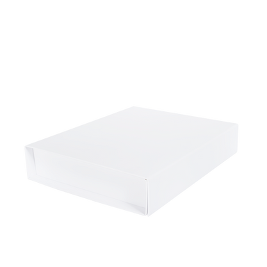 BritBox 340 x 285 x 60 - White (Pack of 15).