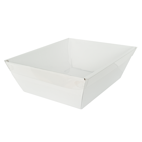 Deli Lid Large - Clear (Pack of 25)
