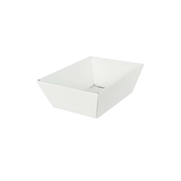 Deli Tray Small White
