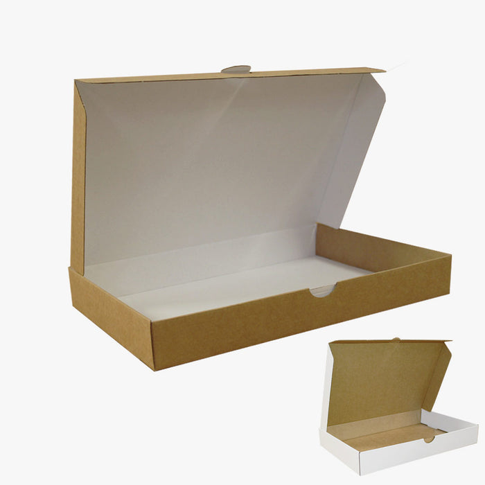 Ecommerce Box Size 2 White Kraft