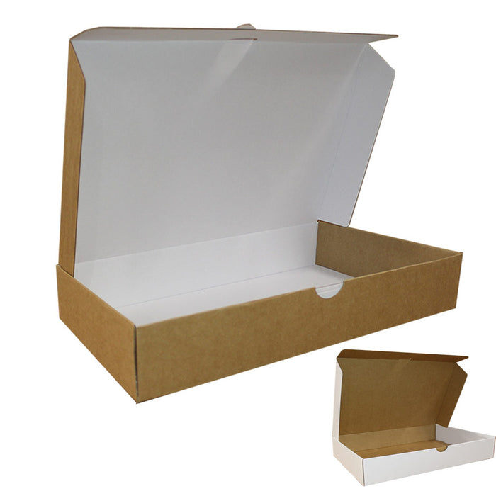Ecommerce Box Size 3 White Kraft