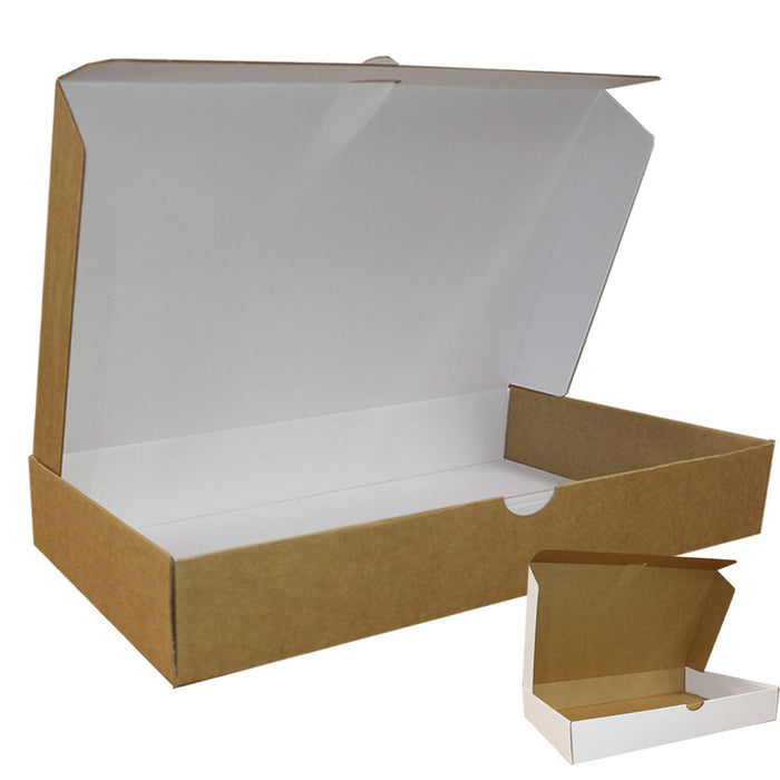 Ecommerce Box Size 4 White Kraft