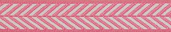 25mm Herringbone Chevron Ribbon (15m reel)