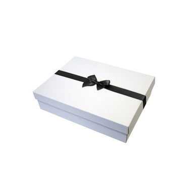 Black Pre tied Bow Size 1 to fit Gift box C, A6, Voucher and Necklace Boxes