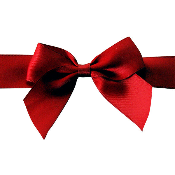 Pre-tied Bow - Size 5 (to fit Keepsake / Small Hamper) (Pack of 25)